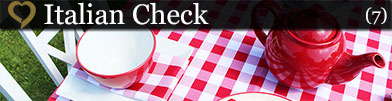 View Standard Gingham Check Tablecloths